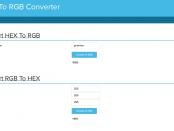 HEX to RGB Converter