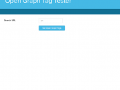 Open Graph Tag Tester