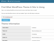 What Theme Wordpress Tester